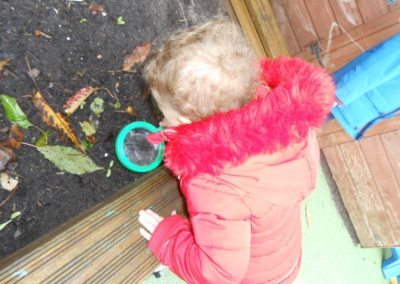 Child Outdoor at Nursery
