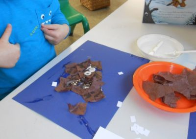 Child Creativity at Nursery